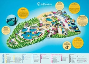 Dolfinarium plattegrond