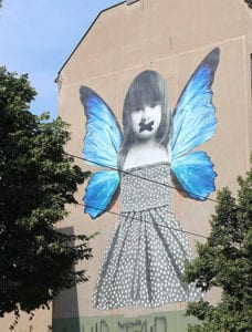 Graffiti in Friedrichshain Berijn