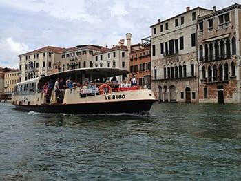 Vaporetto in Venetië