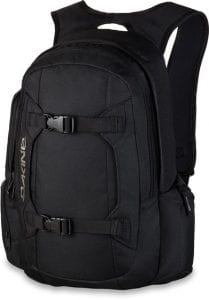 dakine mission 25l black rugzak