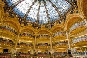 Galeries Lafayette in Parijs