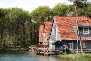 luxe vakantiewoning aan het meer Bosrijk Efteling