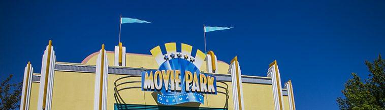 Ingang Moviepark Germany