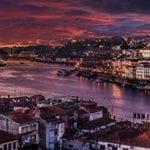 Overzicht over Porto en de rivier
