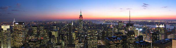 New York vanuit Rockefeller center