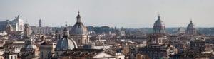 Overzicht over de daken van Rome