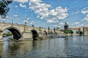 de Charles brug in Praag