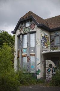 De verlaten villa van Doel