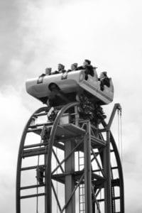 Typhoon achtbaan in Bobbejaanland