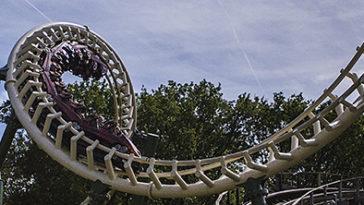 Python achtbaan Efteling