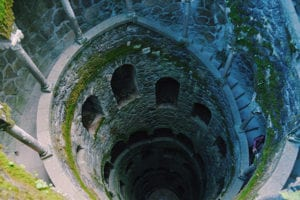 initiation well Quinta da Regaleira Portugal