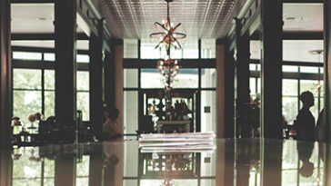 All inclusive hotel lobby