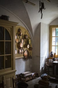 De keuken van kasteel Amerongen