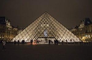 Foto van het Louvre