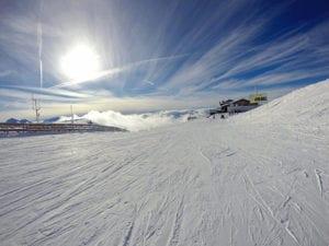 GoPro tijdens de wintersport