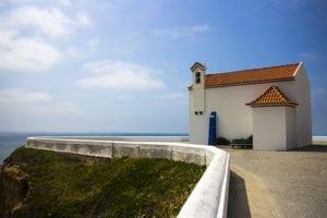 Kerk in Portugal bewerkt