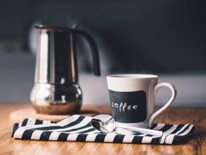 Koffie voor je vliegreis