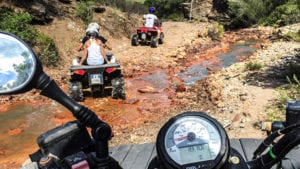 Offroad rijden in Sardinië