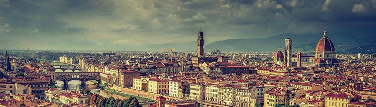 Overzicht van Florence Italië