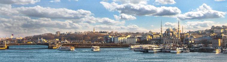 Skyline van Istanboel