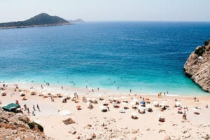 Strand van Antalya