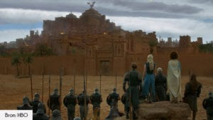 Aït Benhaddou of Yunkai filmlocatie Game of Thrones seizoen 3