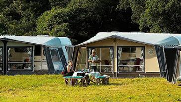 Camping in de buurt van Venetië