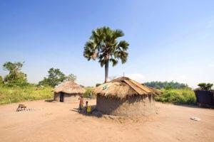 Dorp in Oeganda