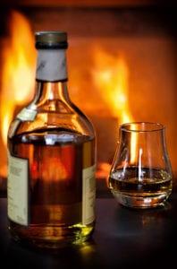 Glaasje schotse whisky