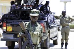 Militaire politie in Oeganda