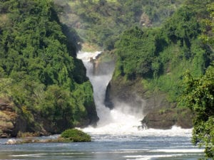 Murchison Falls National Park in Oeganda