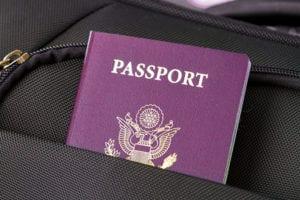 Paspoort mee op reis