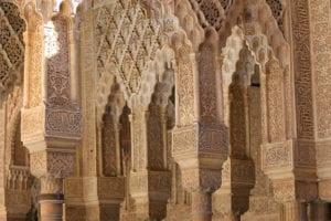 Prachtige versieringen in het Alhambra