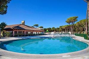 Zwembad camping Cavallino, Venetië, Italië