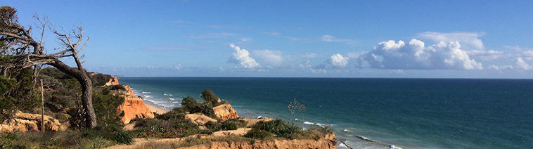 Albufeira in de Algarve, Portugal
