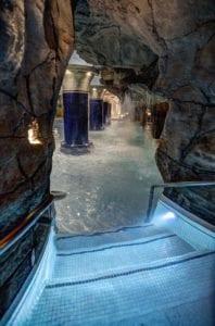 Binnenzwembad in Hotel Eugenia Victoria