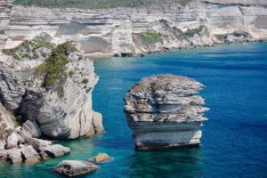 De kust van Corsica