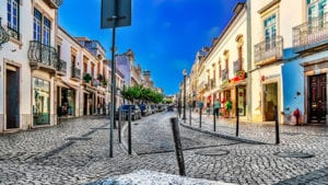 De straten van Tavira
