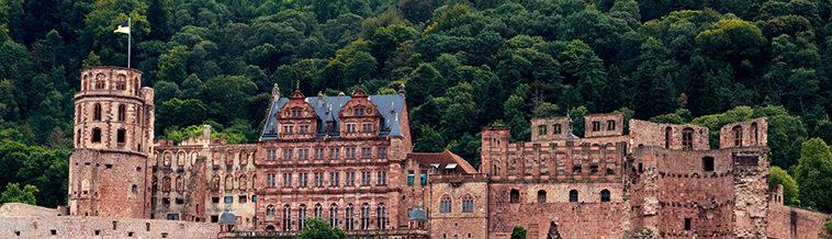 Kasteel in Heidelberg