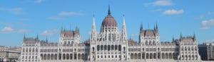 Parlementsgebouw in Boedapest
