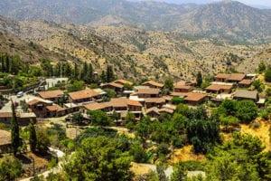 Uitzicht over Cyprus