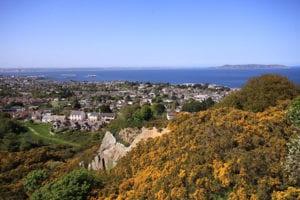 Uitzicht over Dublin Bay