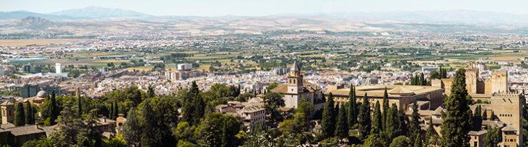 Uitzicht over Granada