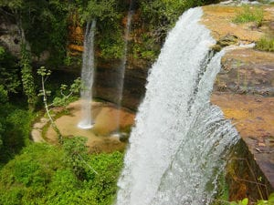 Waterval in Ria Formosa