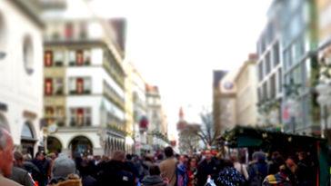 Winkelstraat in Spanje