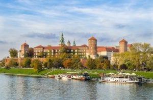 Kasteel van Wawel in Krakau