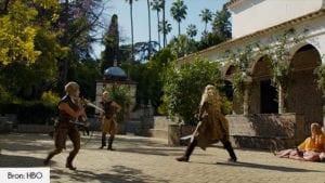 Koninklijk paleis van Sevilla filmlocatie Game of Thrones seizoen 5
