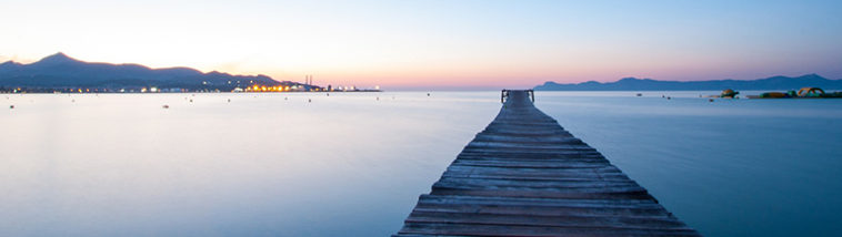 Mallorca bij zonsondergang