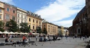 Marktplein in Krakau