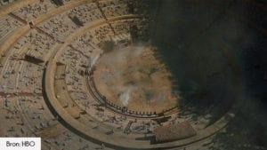 Plaza de Toros filmlocatie Game of Thrones seizoen 5